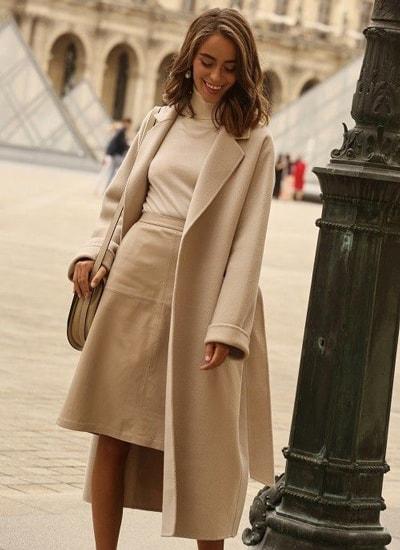 استفاده از تک رنگ پاییزی در مدل لباس دخترانه 2020