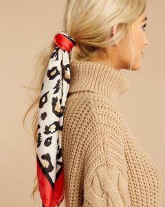 باندانا، روسری، دستمال سر و گردن و استایل مو